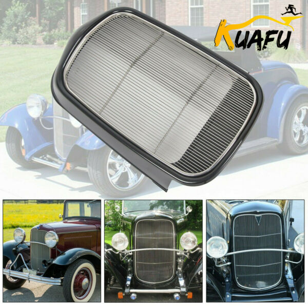 For 1932 Ford Steel Front Grille ShellStainless Grill Without Crank Hole