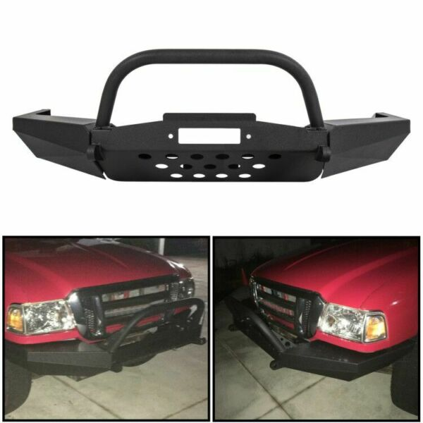 For Elite Ford Ranger Modular Front Winch Bumper with Bull Bar 1996-2011
