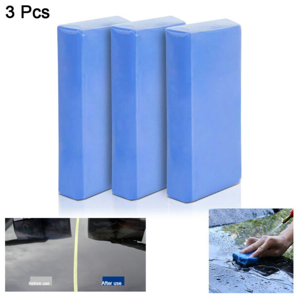 3-Pack 150g Car Clay Bar Auto Detailing Magic Clay Bar Cleaner Make Car Clean US