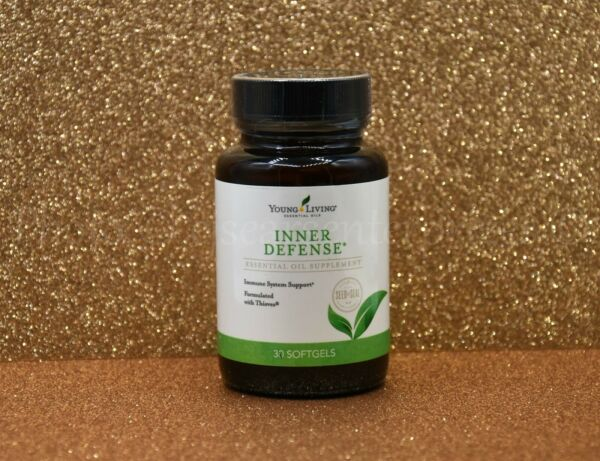 Young Living Inner Defense 30 Softgels Essential Oils Supplement Immune Support