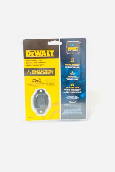 DeWALT DCE041 Durable IP68 Rating Single Tool Tracker Connect Tag $10.99