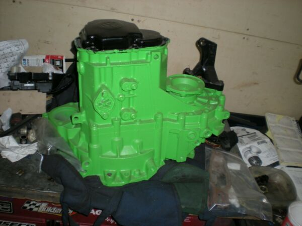 Rebuilt O2J Transmission with UroTechnique Custom Differential