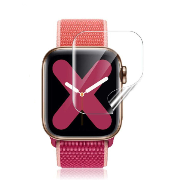 2x For Apple Watch Series 5 Series 4 Soft PET Full Cover Screen Protector Film $3.99