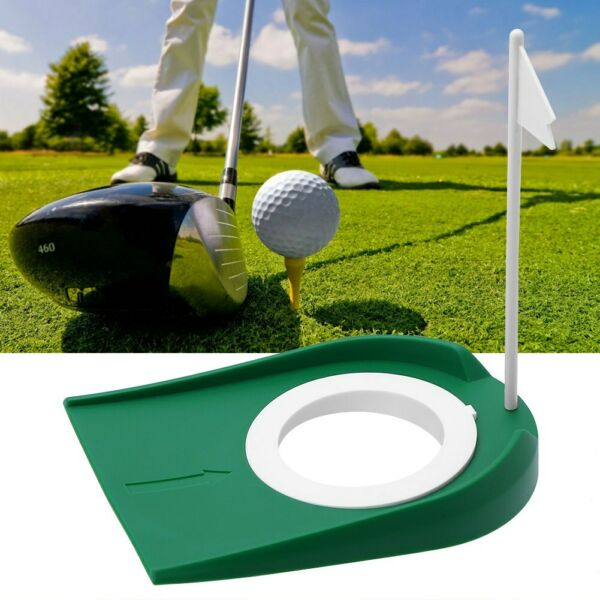 All-Direction Putting Cup Plastic Golf Practice Hole Training Aid IndoorOutdoor