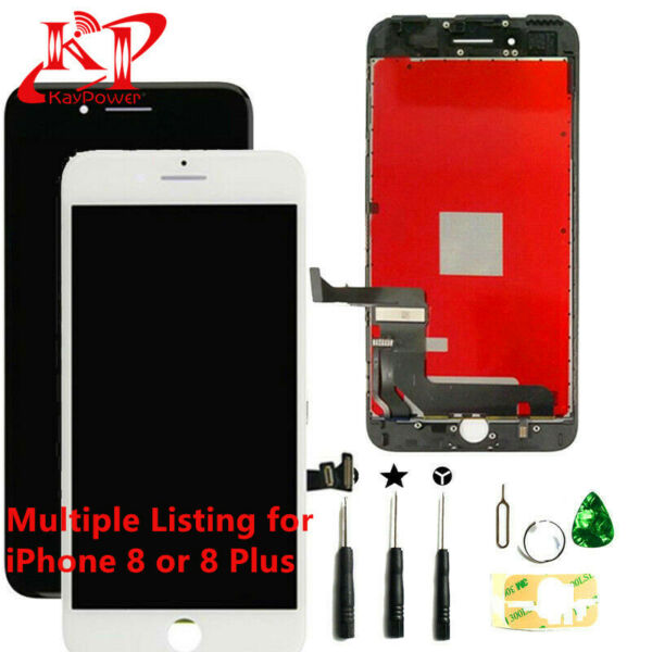 New For iPhone 8 Plus 8 Screen Replacement LCD Display Touch Digitizer Tools
