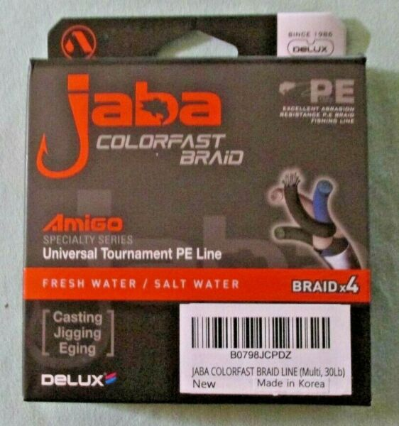 JABA COLORFAST BRAID PE FISHING LINE T 16
