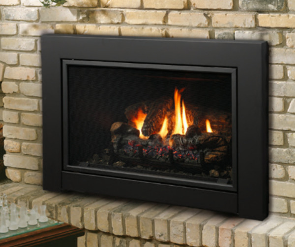 Kingsman IDV43 Direct Vent Gas Fireplace Insert Traditional Millivolt NG
