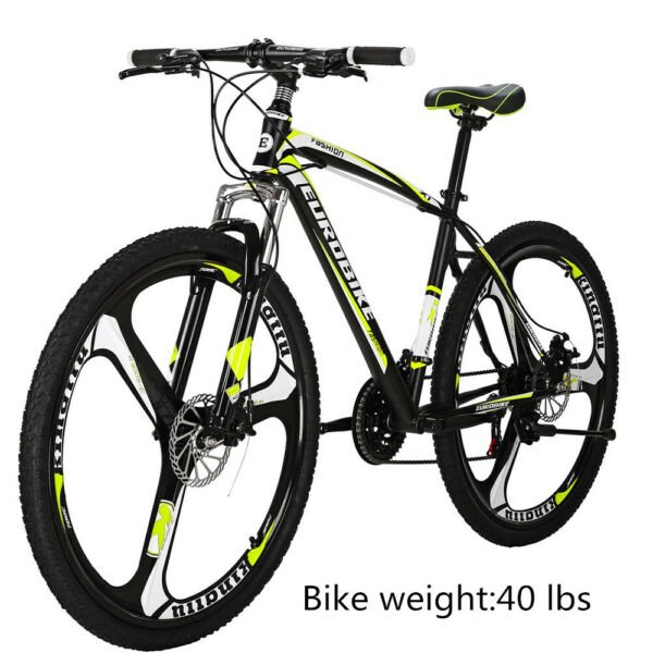 27.5quot; Mountain Bike Shimano 21 Speeds Front Suspension Disc Brakes Mens Bicycle $308.00