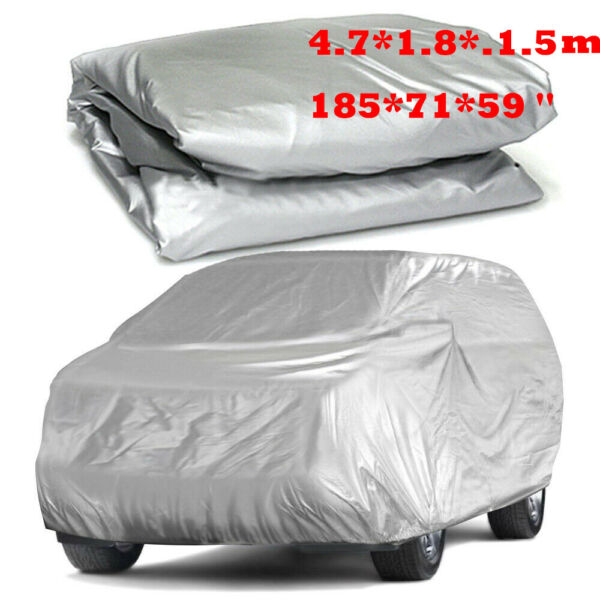 WaterProof Full Cover In Outdoor Dust UV Ray Rain Snow Only Fit For Small Car $25.64