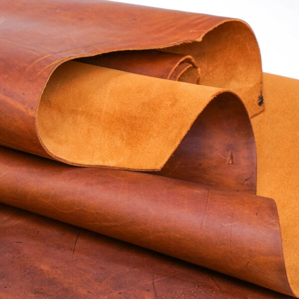 Springfield Leather Co. Mesquite Brown Oil Tan Leather