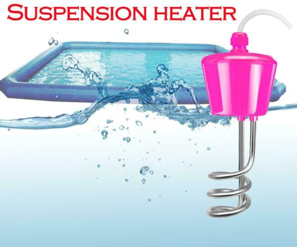 1500W Immersion Water Heater Element Boiler Fit Bathtub inflatable swimming pool