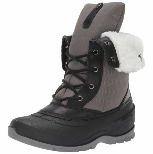 Kamik Women#x27;s HARPER2 Snow Boot Charcoal 9 Medium US