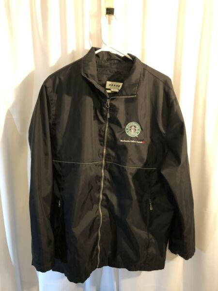 Urban North End Lightweight Water Resistant Jacket Starbucks Coffee Canada Med