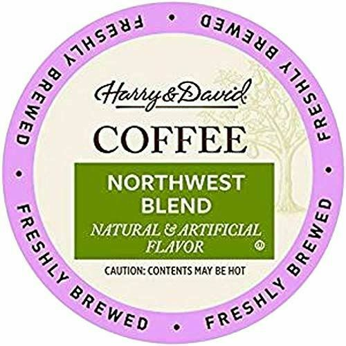 Harry amp; David Coffee in Single Serve k Cups 18 Count Northwest Blend