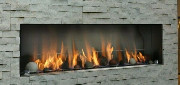 Barbara Jean Collection Outdoor Linear Fireplace 36