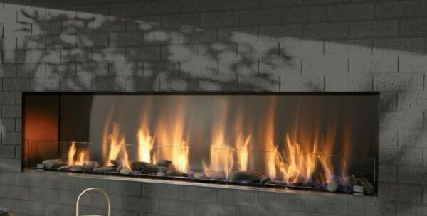 Barbara Jean Collection Outdoor Linear Fireplace 48