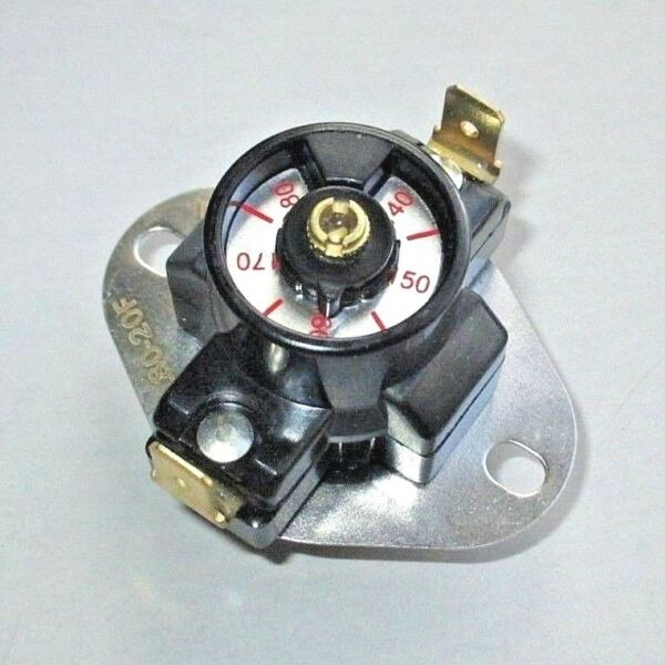 Adjustable Fireplace Wood Stove Blower Fan Temperature Switch Thermostat Control $20.95
