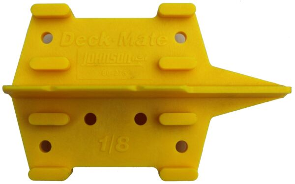 Johnson Level & Tool 60-275 DeckMate Deck Plank and Fastener Spacing Gauge