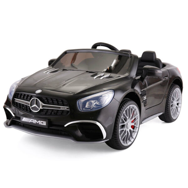12V Mercedes-Benz Electric Kids motor Car RC Remote Control Christmas Gift Blcak