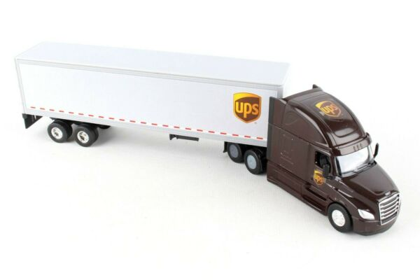United Parcel Service UPS Tractor Trailer 1 64 Scale Toy Truck $19.99