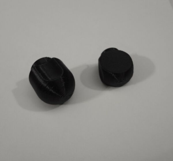 Set Lock Lever and Speed Control Black Knob for KitchenAid Stand Mixer