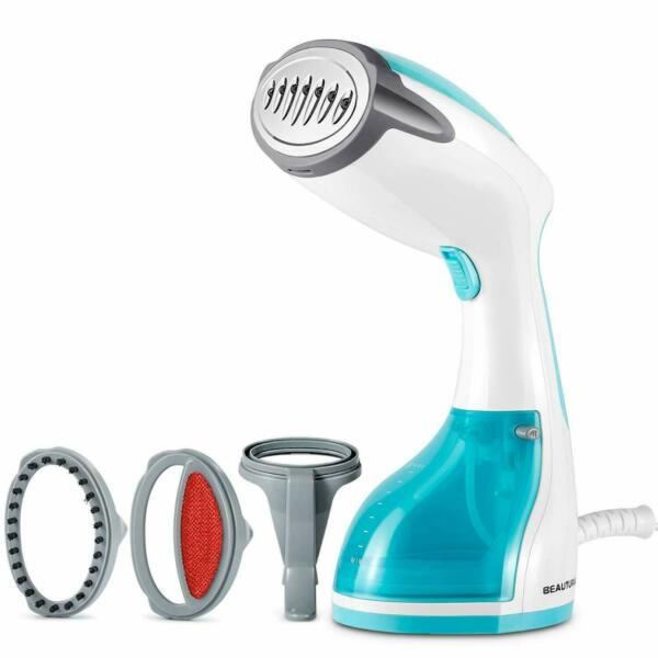 BEAUTURAL Steamer 1200 Watt for Clothes with Pump Steam Technology Portable