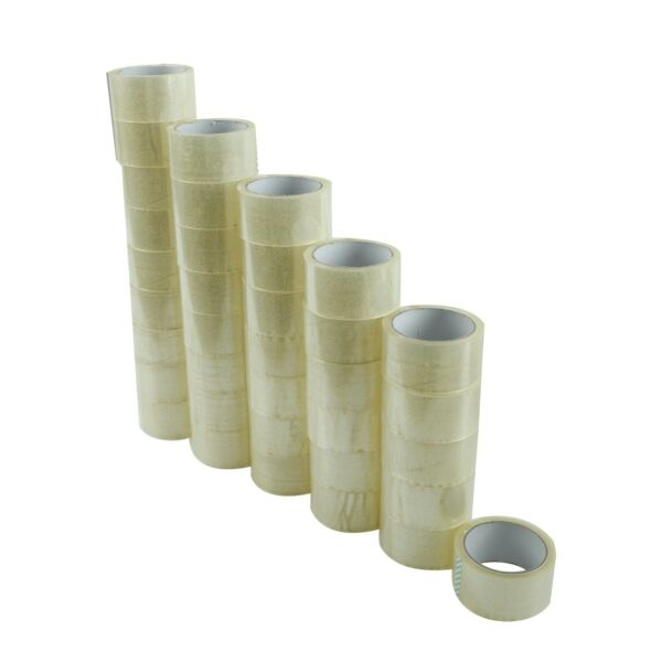 36 Rolls Carton Sealing Clear Packing Tape Box Shipping - 2 mil 2