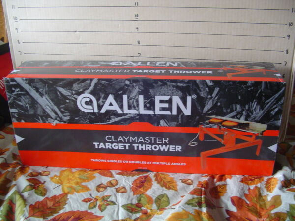 NEW Allen Claymaster Target Thrower - Singles or Doubles at Multiple Angles