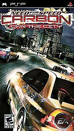 Need for Speed: Carbon Own the City (Sony PSP 2006) Complete wi