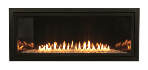 Empire Boulevard Vent Free 36quot; Linear Gas Fireplace W Remote Lp Or Ng Modern