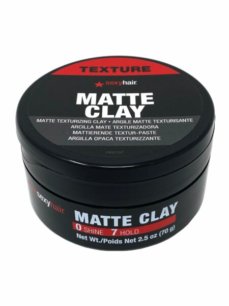Style Sexy Hair Matte Texturing Clay 2.5 oz