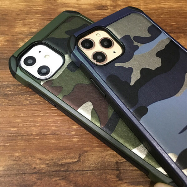 For iPhone 11 11 Pro 11 Pro Max Military Camouflage Camo Armor Case Cover