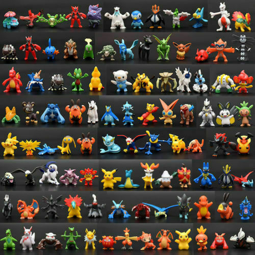 NEW 144ps set pvc Toy Mini Figures Monster Animation model collection Gift 2 3cm $23.90