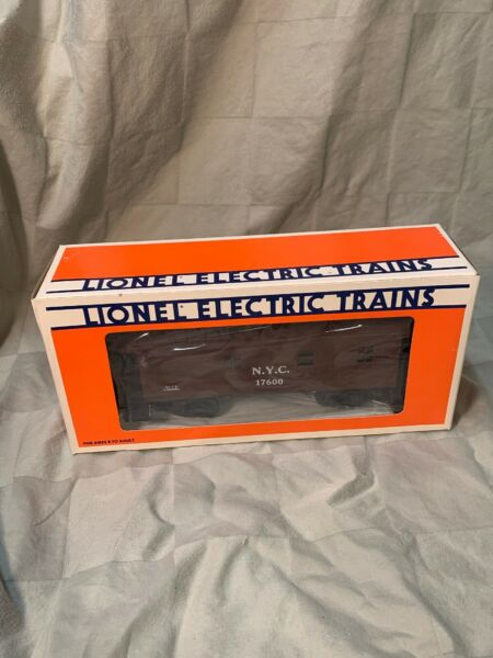 LIONEL NEW YORK CENTRAL WOOD SIDED CABOOSE 6 17600 MINT IN BOX BRAND NEW $35.98