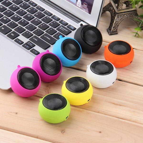 Mini Portable Speaker HI-FI Battery MP3 Player Cell Phone Tablet PC Computer
