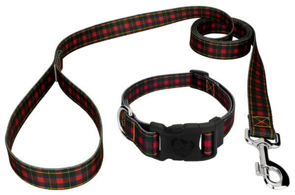 Country Brook Design® Buffalo Plaid Deluxe Dog Collar amp; Leash $17.95
