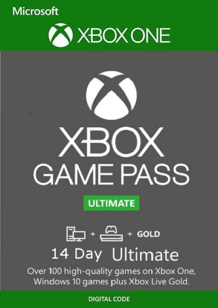 Xbox Live 14 Day Gold Game Pass Ultimate Digital Code FAST EMAIL DELIVERY $2.25