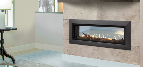 Majestic Echelon II 48ST Multi-Sided Gas Fireplace with Accent Lights