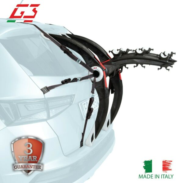 G3 Bike Carrier Trunk Mount 3 Bikes Rack Hatchback SUV Car Sport Bicycle Pro $199.99
