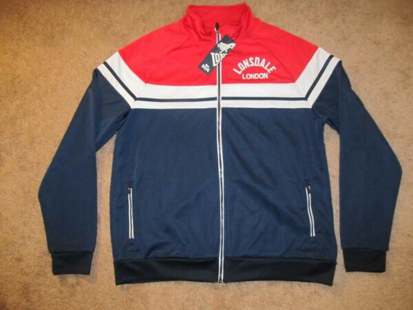 NWT's Lonsdale London Track Suit Jacket Top-Men's L