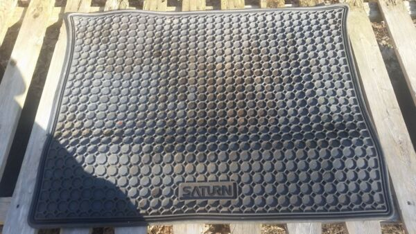 universal or specific Saturn cargo area thick rubber mat $30.00