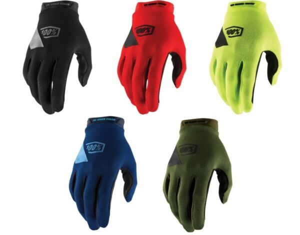 100% Ridecamp Gloves Offroad Motocross Dirt Bike Riding Men#x27;s Sizes $24.50
