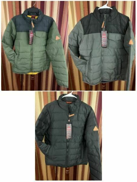 NWT Men's Gerry Jacket Work Wear Bearwood Insulated Water Resistant Durable