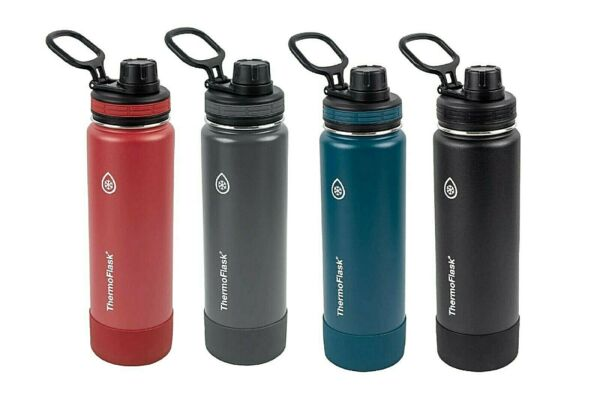 NEW ThermoFlask 40oz Insulated Stainless Steel Water Bottle With Spout Lid