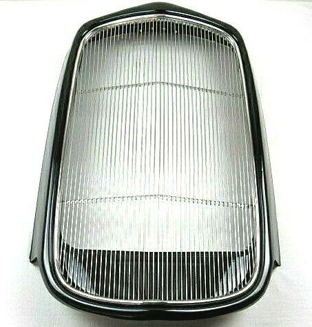 1932 Ford Steel Grill Shell w Stainless Grill Insert Complete Black BPW 1001K