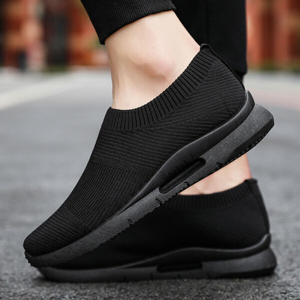 8 Pair Womens Sneakers Casual Breathable Sports Slip-on Tennis Running Shoes