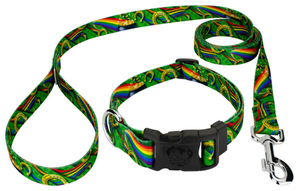 Country Brook Petz® Deluxe Leprechaun#x27;s Fancy Dog Collar and Leash $17.95