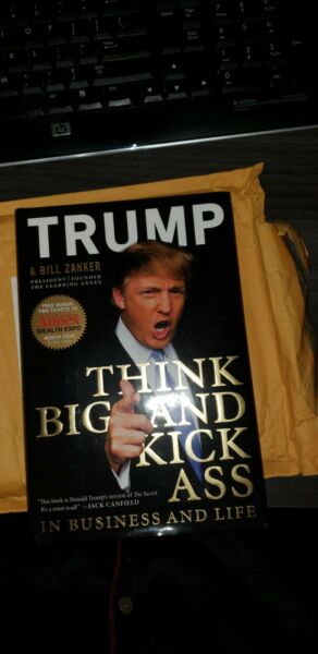 Authentic President Trump Book. My former client.