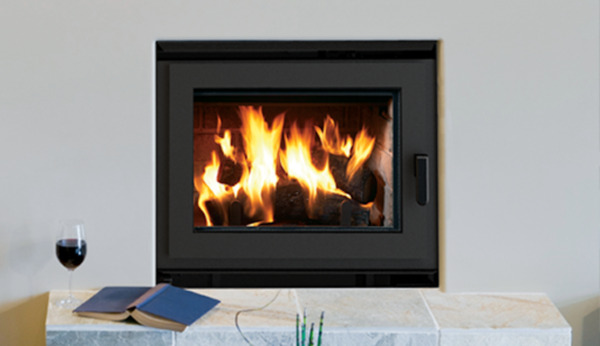 Superior WCT6940 EPA-Certified Wood Burning Fireplace w Cast Iron Log Retainers