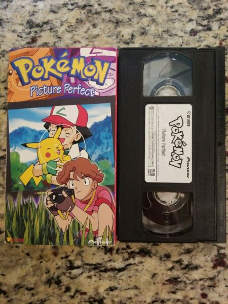 Pokemon VHS Tape (VHS 1999) Picture Perfect TESTED FREE SH